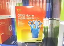 MICROSOFT OFFICE 2010 HOME & BUSINESS UK DVD (USED) T5D-00159 GENUINE WORD EXCEL