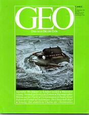 GEO Magazin Nr.1  Dezember/12/1981*