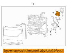 GM OEM-Headlight Headlamp Bulb 13594523
