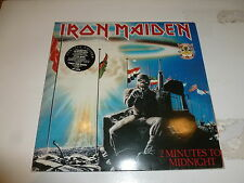 """IRON MAIDEN - 2 Minutes To Midnight / Aces High - Original 1990 UK 7-track 12"""""""