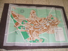"Bethlehem Pictural Map 45*63 Cm 1970"" Israel Rare"