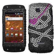 Skull Crystal Bling Case Cover for T-Mobile Sidekick 4G