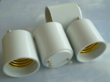 FOUR (4) Adapters to Use E27 or E26 Light Bulbs in a GU24 fixture base Adapter