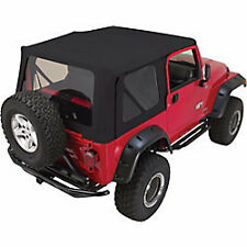 Rampage Factory Replacement Soft Top 97-06 Jeep Wrangler TJ 99315 Denim Black