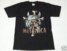 Metallica Pirate Skull T-Shirt Black S NEW 165