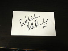 PATTI BOULAYE - CHART TOPPING SINGER - SIGNED WHITE CARD