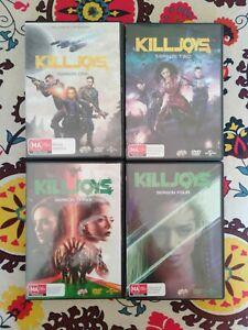 Killjoys - Seasons 1-4 - Like New