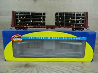 Athearn 92705 Southern Pacific 60' Bulkhead With Pipe Load Wagon HO Scale Unused