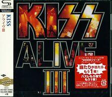 KISS ALIVE III JAPAN 2016 RMST SHM HIGH FIDELITY FORMAT CD - PAUL STANLEY - NEW!