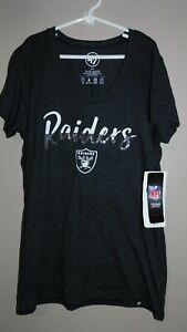 N.W.T  '47 Brand Women's Small Oakland Raiders T-Shirt