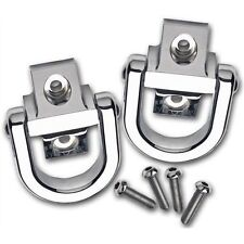 Hummer 2003-2009 H2 Rear Smooth Chrome Tow Hooks