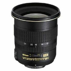 Nikon Nikkor AF-S 12-24mm f/4 G IF-ED DX Lens