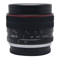 Meike 6.5mm F2.0 Fisheye Lens Super Wide Angle Manual Focus Lens for Nikon 1