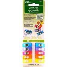 Wonder Clips Assorted Colors 10/Pkg 051221731853
