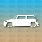 "Mini Cooper Hatchback Cooper S R53 R56 6"" Custom Vinyl Decal"