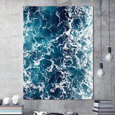 Onda De Mar Sin Marco cuadro Lienzo Pintura Pared Arte Decoración para la sala de estar