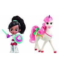 Nickelodeon Nella The Princess Knight Trinket BFF's Doll / Unicorn Action Figure