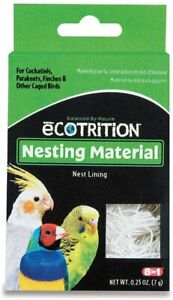 Ecotrition Nesting Material for Cockatiels Parakeets Finches