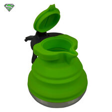 1.2L Collapsible Folding Kettle (Camping Coffee Outdoors Silicone Gas Stove Wate