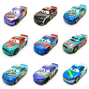 Mattel Disney Pixar Cars 3 Racers No.4-No.123 Diecast Toy Vehicle 1:55 Kids Gift