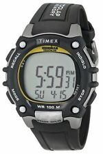 "Timex T5E231, Men's ""Ironman"" 100-Lap Resin Watch, 5 Alarms, Indiglo, T5E2319J"