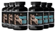 Male Stamina HORNY GOAT WEED w/ Tongkat Ali, Saw Palmetto, L-Dopa 6 Bot 360 Caps