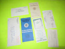 Vintage The American Kennel Club Mail Lot Set
