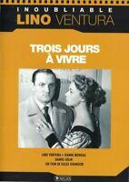 DVD TROIS JOURS A VIVRE LINO VENTURA OCCASION