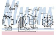 NISSENS Compresor, aire acondicionado FIAT STILO ALFA ROMEO 166 146 GTV 89120