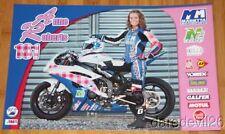2014 Anne Roberts Marietta Motorsports Yamaha YZF-R6 Supersport AMA poster