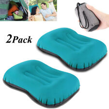 Mini Ultralight Inflatable Air Pillow Travel Hiking Bed Cushion Two Pillow Set