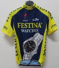 MAGLIA SHIRT JERSEY MAILLOT CAMISA TRIKOT CICLISMO CYCLING FESTINA FRANCE SZ.M