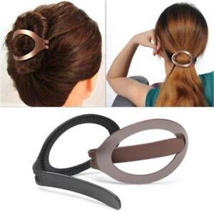 Plastic Styling Clip Bun Maker Hair Updo Clip Maker Barrette Tool Accessories T