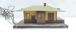 American Flyer Trains 755 Mystic Talking Station For Parts Or Repair S Scale
