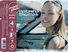 NATASHA THOMAS : SAVE YOUR KISSES / CD - TOP-ZUSTAND