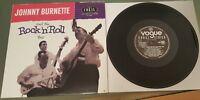 """JOHNNY BURNETTE TRIO 10"""" LP - REPRO OF THE LEGENDARY 1956 UK LP"""