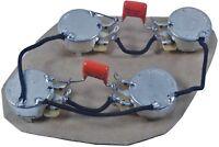 Les Paul, SG, explorer, ES, flying V main cavity wiring harness (modern wiring)