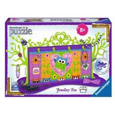 RAVENSBURGER 3D JIGSAW OWL JEWELLERY TREE 36 CM WIDE BRAND NEW & FREE UK POSTAGE