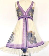 Fleur Wood Regular Size 100% Silk Dresses for Women