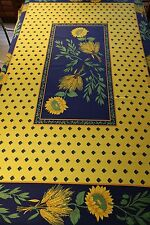 French provincial tablecloth Sunflower Tournesol