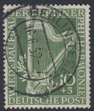 MUSIC :GERMANY (BERLIN) 1950 Berlin Phiharmonic 10pf+5pf  greenSGB71 used