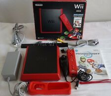 Nintendo Wii Mini RVL-201 Limited Edition 8 GB Red System - Latest Model