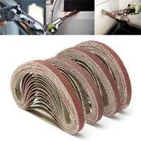 10 Stück Geweb Schleifbänder Schleifband 10x330mm Bandschleifer 40-320 Körnung