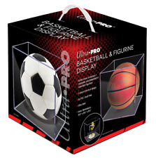 Ultra Pro Basketball Display Case - Full Size Ball Holder - Crystal Clear NEW!