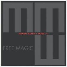 MARTIN & WOOD MEDESKI - FREE MAGIC  CD NEU