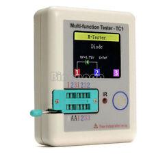 Transistor Tester TFT Diode Triode Kapazität LCR ESR NPN PNP MOSFET 0.01-50MΩ
