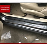 1M Carbon Fiber Style Car Scuff Plate Door Sill Cover Panel Step Protector Cover