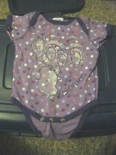 Mt. Rushmore Purple Size 12M - Baby Outfit / One Piece