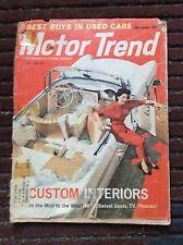 July 1959 Motor Trend Studebaker Revell George Barris Custom Interiors Triumph