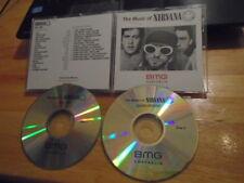 MEGA RARE PROMO Nirvana 2x CD Music Of publishing KURT COBAIN Foo Fighters 32trx